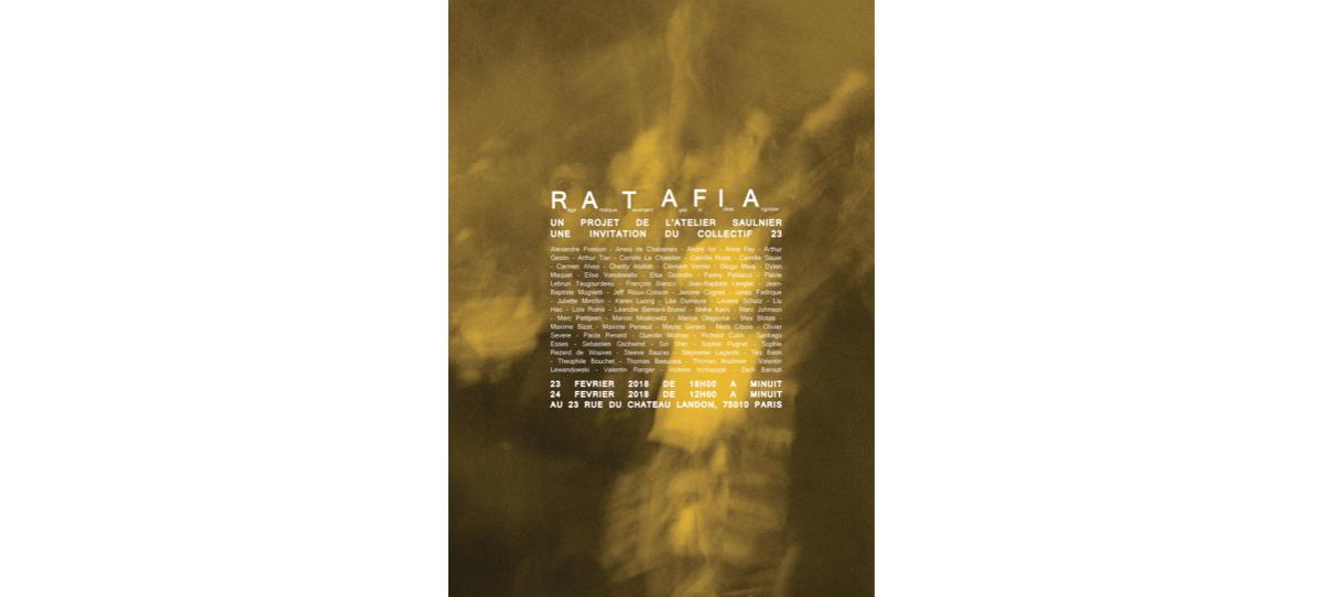 23 & 24/02 – R.A.T.A.F.I.A – COLLECTIF 23 PARIS