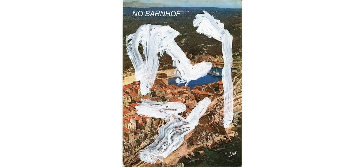 10/03▷07/04 – HENDRIK HEGRAY – NO BAHNHOF  – GALERIE ESCOUGNOU-CETRARO PARIS
