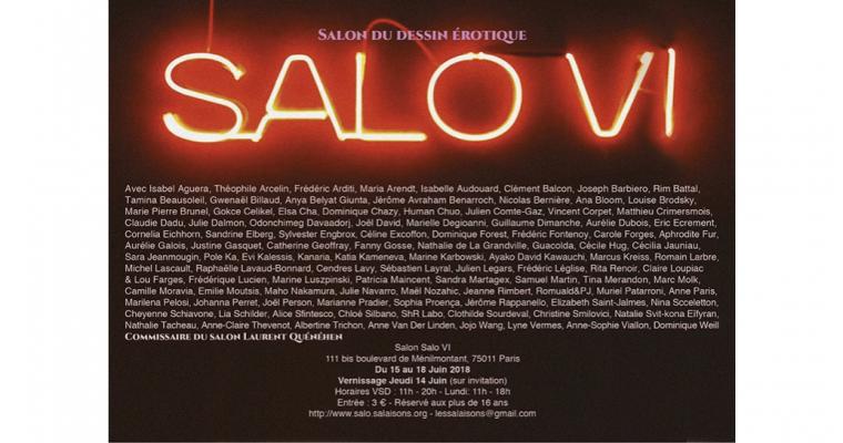 15▷18/06 – SALO VI – SALON DU DESSIN ÉROTIQUE – PARIS