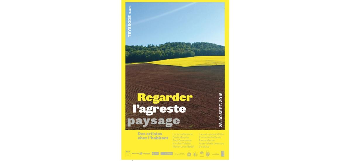 28-29-30/09 – REGARDER L'AGRESTE PAYSAGE – AFIAC