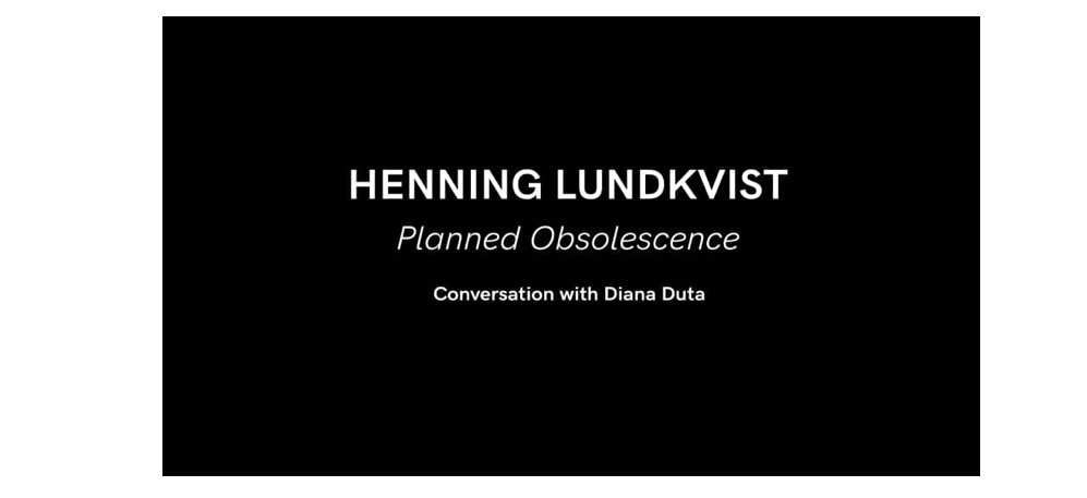 22/02 – 19H – HENNING LUNDKVIST – READING AND CONVERSATION WITH DIANA DUTA – COHERENT BRUXELLES