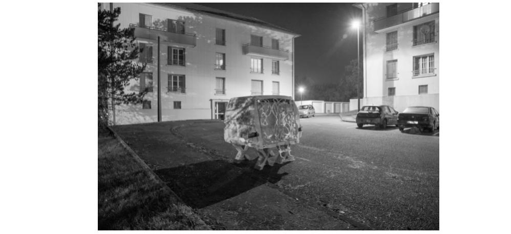 09/02 AU 14/04 – SERGE LHERMITTE – PUIS VINT LE BLANCHIMENT DES EXOSQUELETTES – LE 19, CRACMONTBÉLIARD