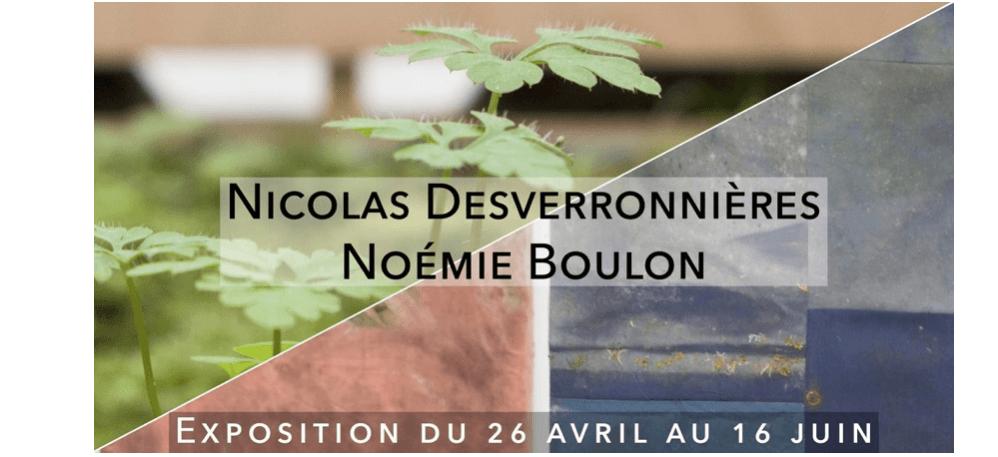 Nicolas Desverronnières & Noémie Boulon – 26/04 au 16/06 – Usine Utopik, Tessy-Bocage