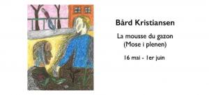 Bard Kristiansen_La mousse du gazon_Les mots et les choses_Galerie Olivier Meyer_Nantes