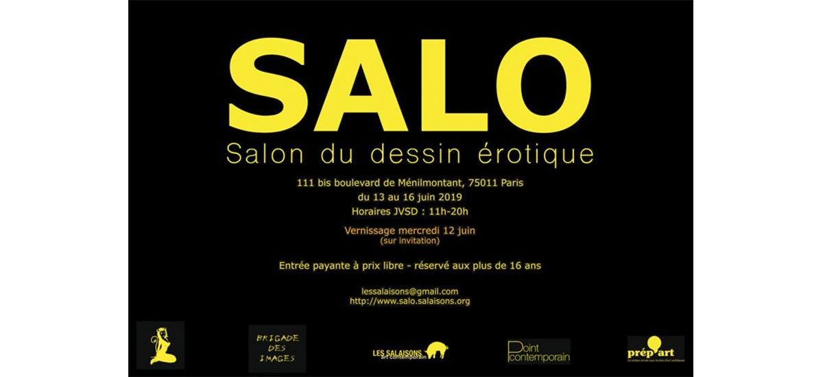 SALO VII – 12 au 16/06 – Ménilmontant, Paris