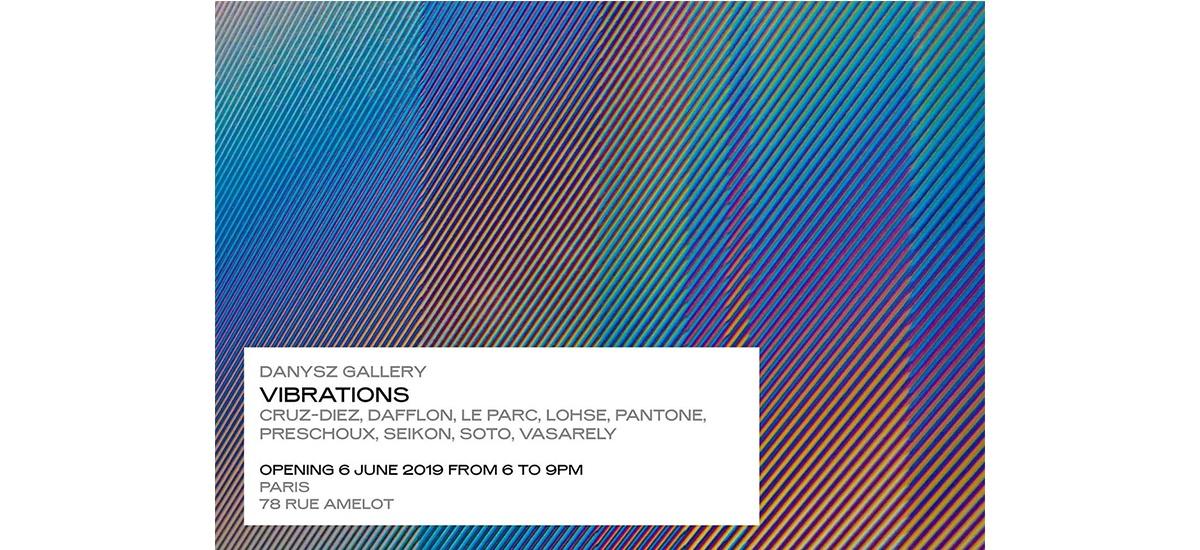 VIBRATIONS – 06/06 au 27/07 – Danysz gallery, Paris