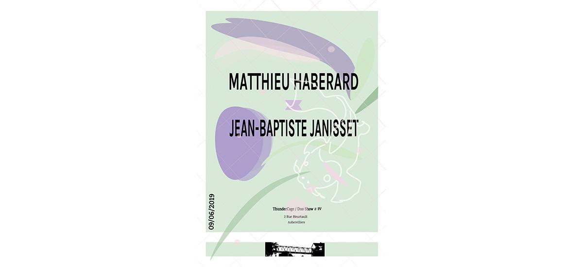 MATTHIEU HABERARD VS JEAN-BAPTISTE JANISSET – 09/06 – THUNDERCAGE #4 – AUBERVILLIERS