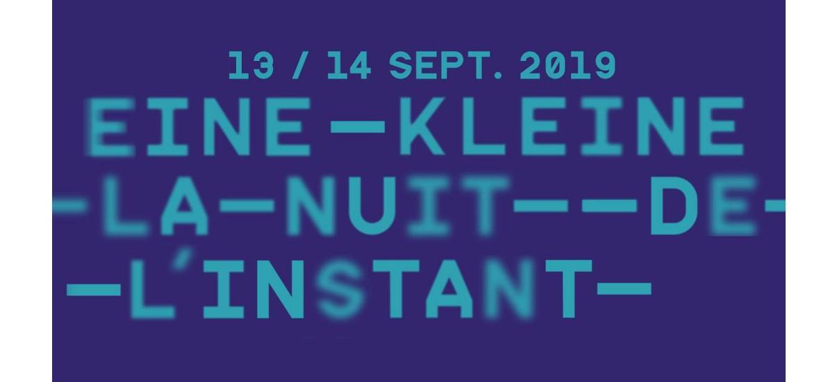 Eine kleine – Nuit de l'Instant in Marseille – 13 & 14/09 – Centre Photographique Marseille