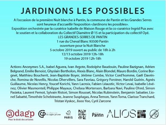 Jardinons les possibles_Nuit Blanche Pantin_Isabelle de Maisonrouge