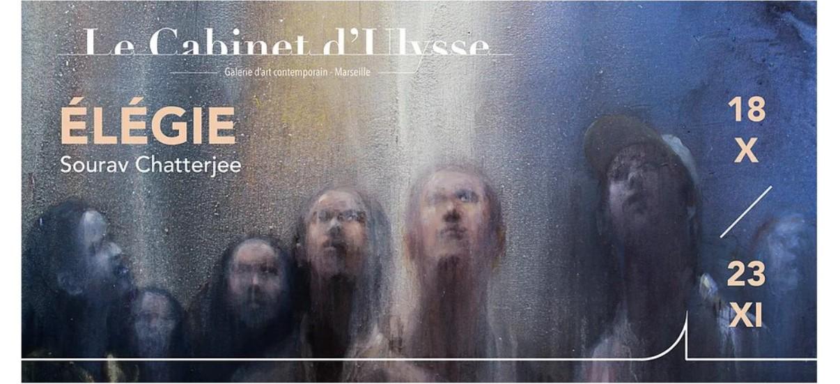 Sourav Chatterjee – Élégie – 18/10 au 23/11 – Galerie Le Cabinet d'Ulysse, Marseille