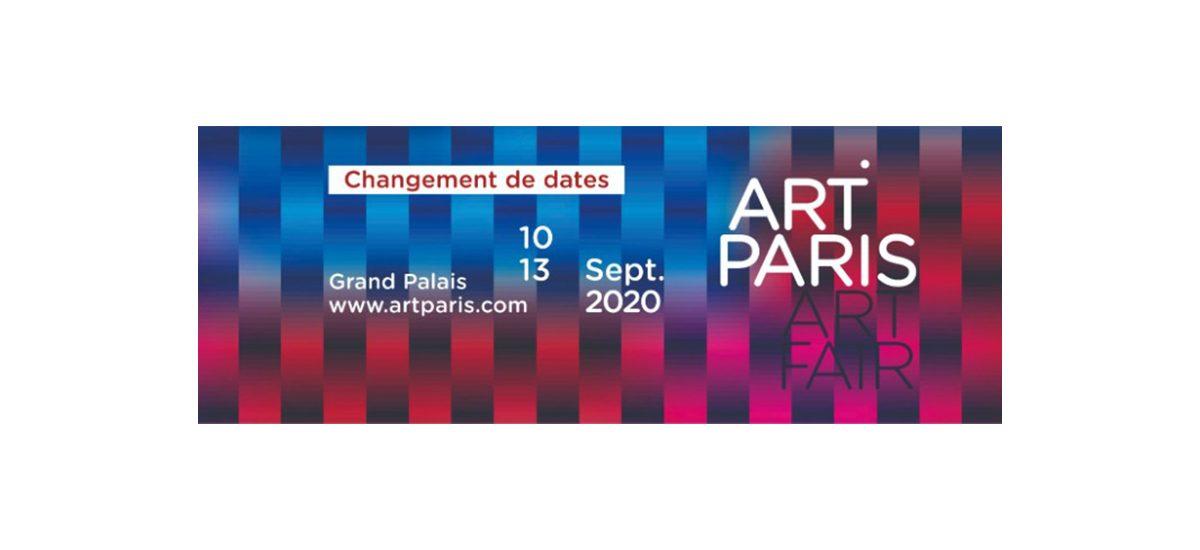 ART PARIS 2020 – DU 10 AU 13/09/20 – GRAND PALAIS PARIS