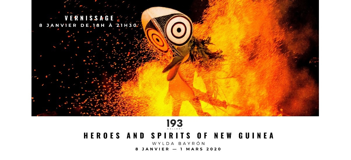 Wylda Bayrón – Héros et esprits de Nouvelle Guinée – 08/01 au 01/03 – 193 Gallery, Paris