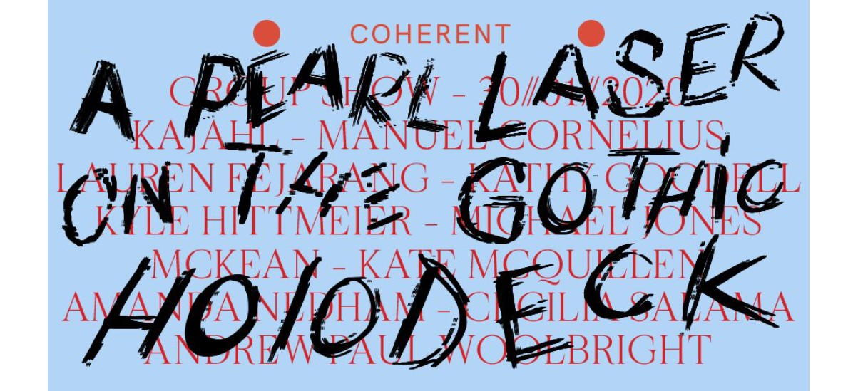 A pearl laser on the gothic holodeck – 30/01 au 29/02 – Coherent Bruxelles