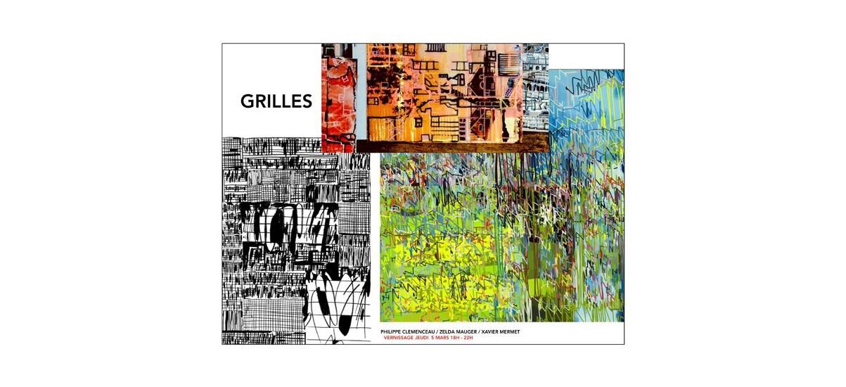 exposition Grilles – Galerie Leymarie, Paris