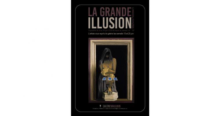Stéphane Pencréac'h – La Grande Illusion – 04 au 30/06 –  Galerie Vallois Paris
