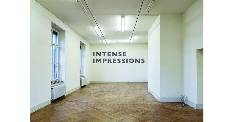 INTENSE IMPRESSIONS – 15/02 AU 21/06 – KUNSTHALLE PALAZZO, LIESTAL