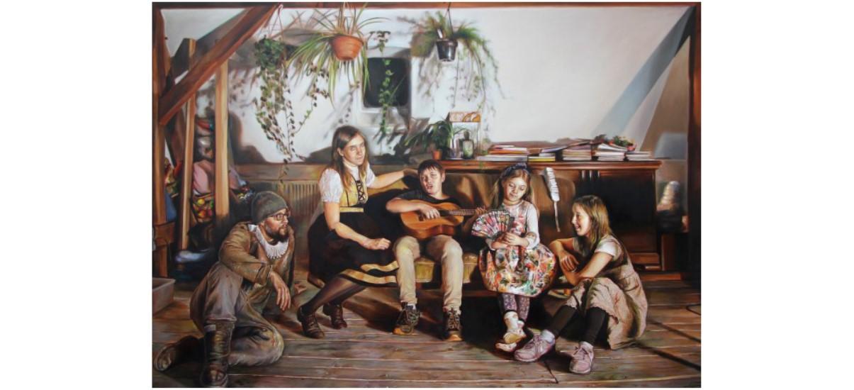 Axel Pahlavi et Florence Obrecht – Peinture de genre – Galerie Samira Cambie, Montpellier