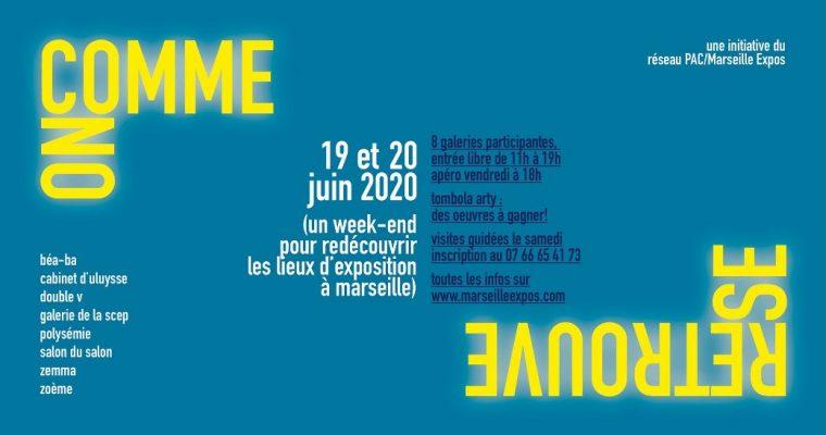 COMME ON SE RETROUVE – galeries du réseau Marseille expos