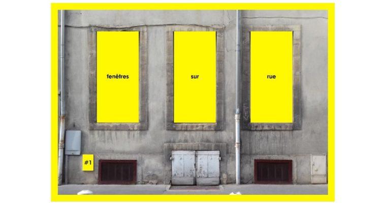 Clémentine Lecointe – Fenêtres sur rue 1 – Interface Dijon