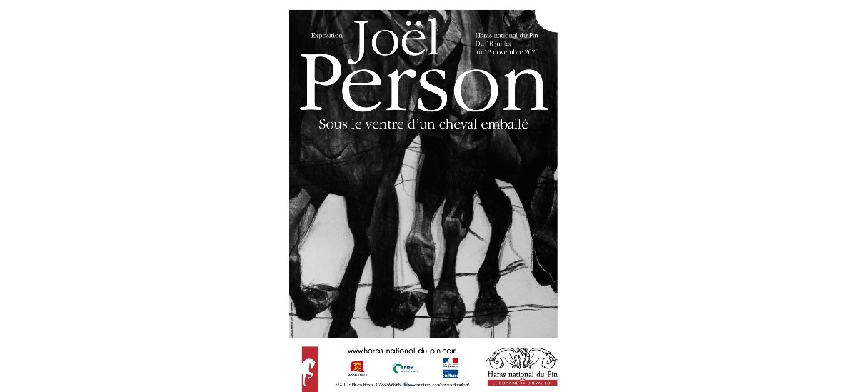 Joël Person – Sous le ventre d'un cheval emballé – 17/07 au 01/11 – Haras national du Pin