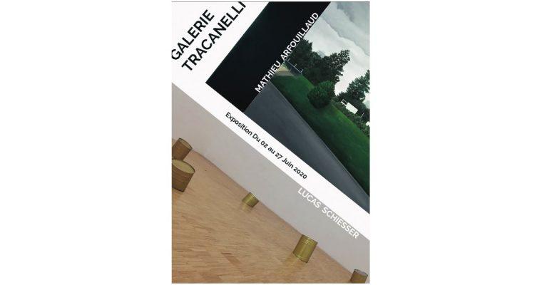 Mathieu Arfouillaud x Lucas Schiesser – 02 au 27/06 –  Galerie Tracanelli Grenoble