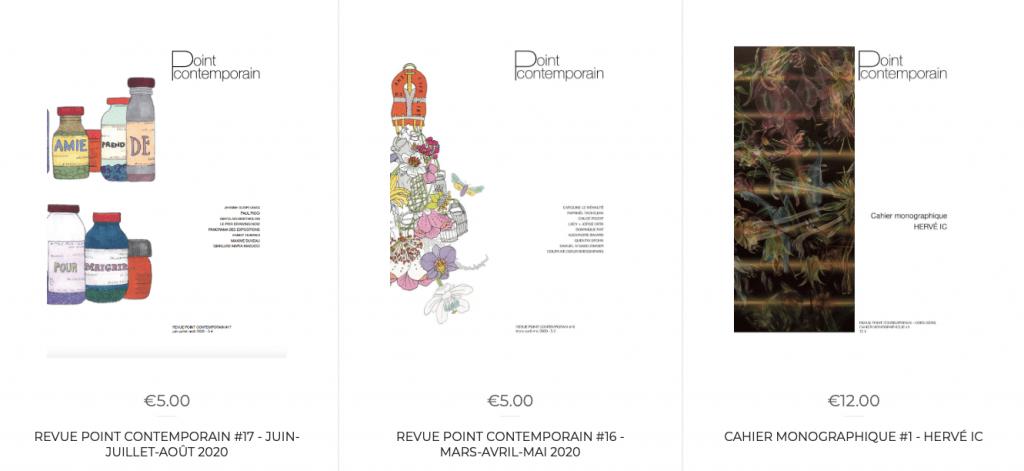 Acheter revue Point contemporain